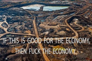 oil sand canada exploitation nature
