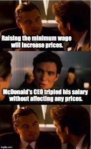 Lohnspreizung