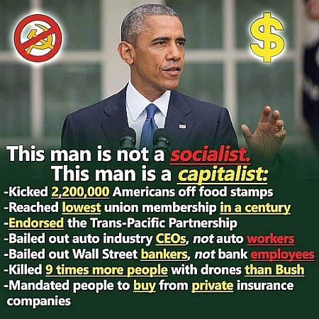 neoliberaler Obama enttäuschendster Präsident aller Zeiten