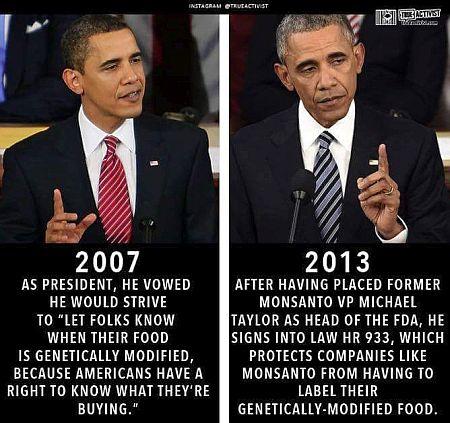 obama monsanto lobbyist