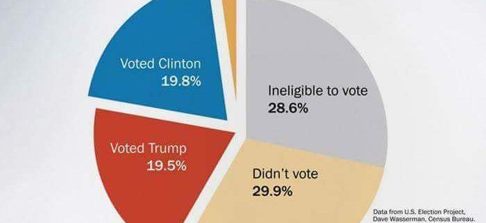 Nichtwähler wählten Trump