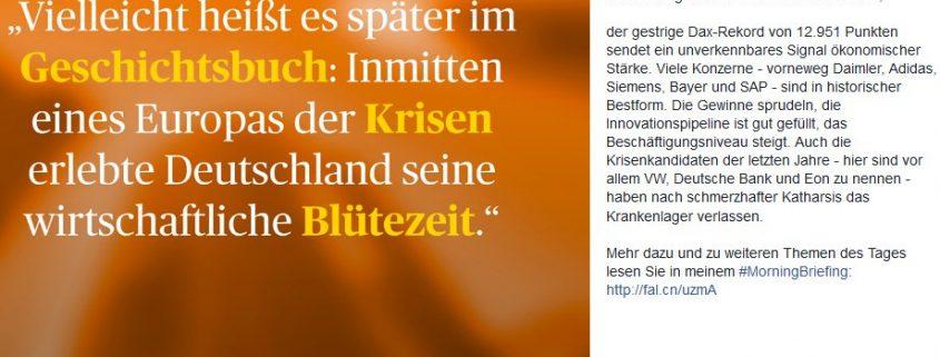 handlesblatt gabor steingart kritik