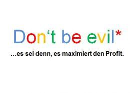 Google Motto Slogan don't be evil