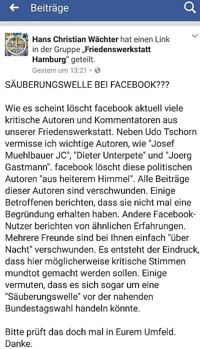 facebook profile sperren gesperrt