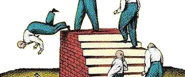 Wähler denken nicht, gleichgültig, uniformiert, unmündig