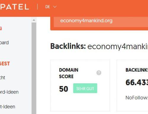 Über 65.000 Links auf economy4mankind