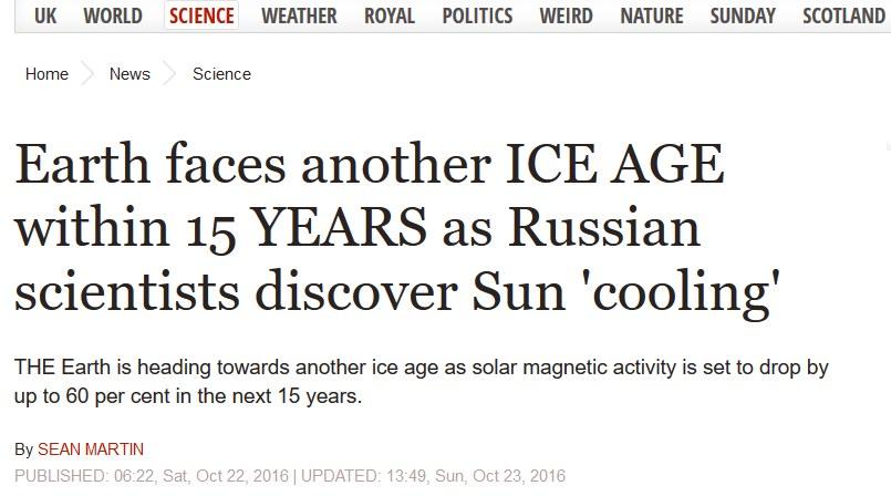 neue eiszeit klimawandel