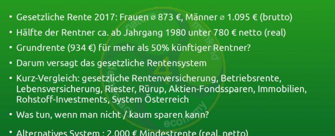 rentensystem vergleich