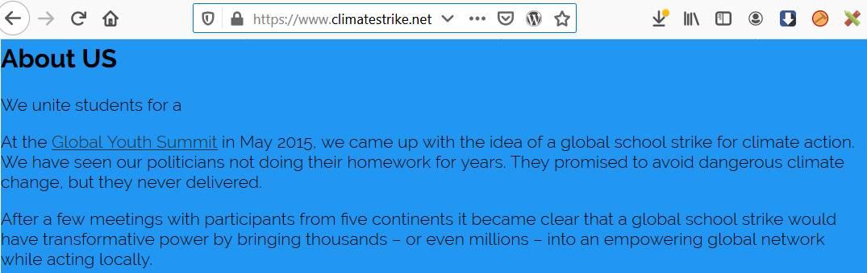 climatestrike net seit 2015 online greta thunberg