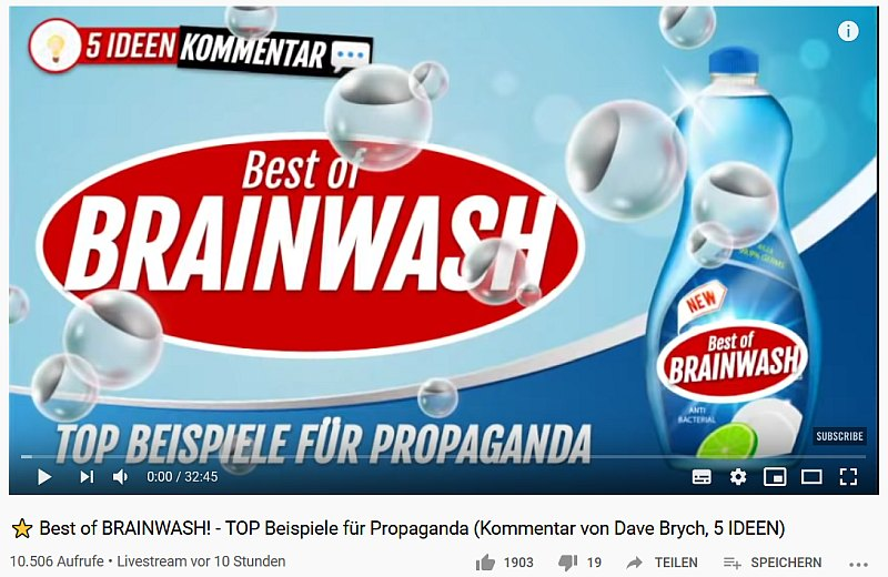 brainwashing merkel corona ard framing manual