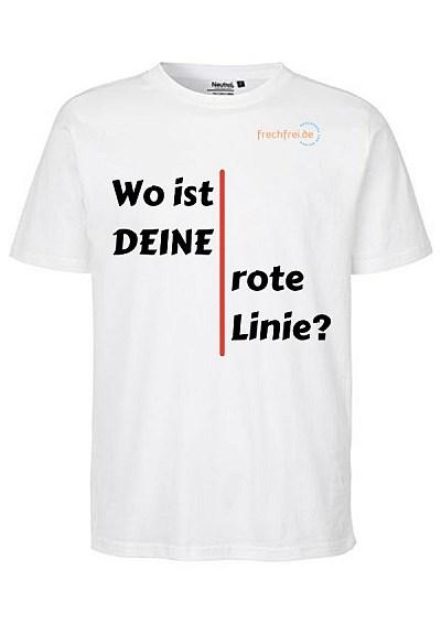 t-shirt wo ist deine rote linie